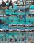 Malina, Ruslana- Contortion Under Water  [FullHD 1080p] FlexiLady.com