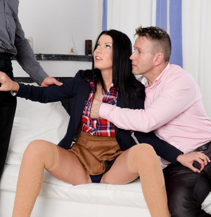 21Sextury: Sofia Like - Fuck Party for Three  [SD 544p]