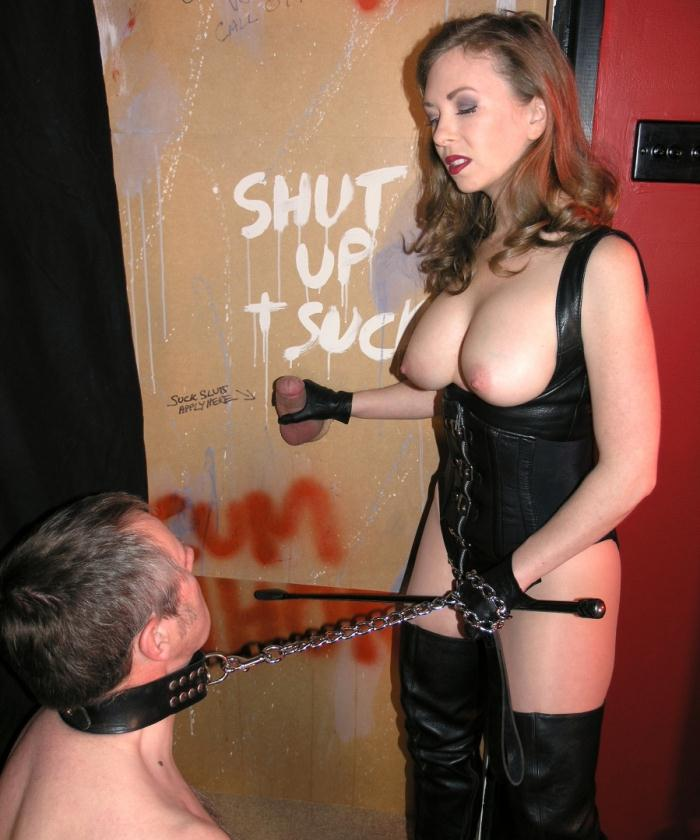 English Mansion - Mistress T - Gloryhole Trainer  [HD 720p]