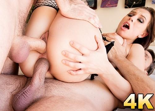 [Aidra Fox Caught In A Dp Sandwich!] SD, 558p