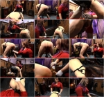 Alice In Bondageland - Caning and Pegging - Strap-on reward [FullHD]