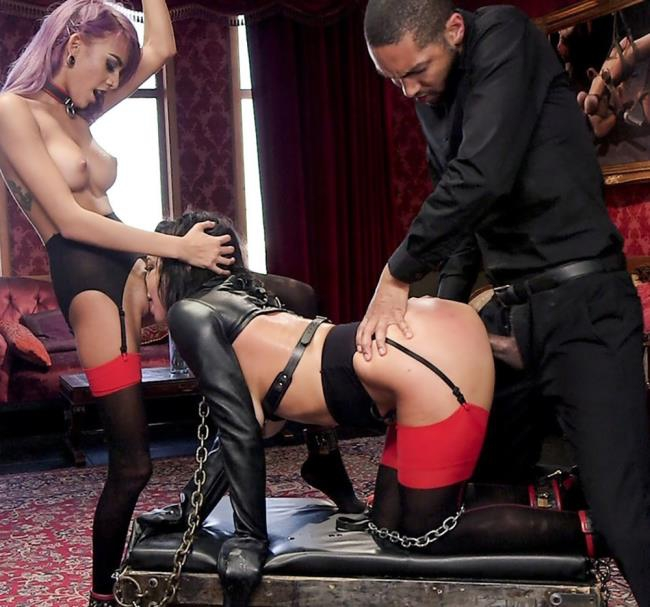 TheupperFloor, Kink: Veronica Avluv, Janice Griffith - The Nymphomaniacs Apprentice  [SD 540p]  (BDSM)