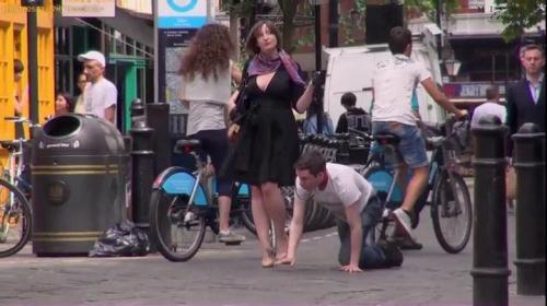 Mistress Evilyne - A very public walk [SD, 404p] [MistressEvilyne.com] - FemDom