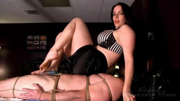Snow - Tied and Trampled - GoddessSnow.com (HD, 720p) [Femdom, Bondage, Trampling, Tease and Denial, Foot Domination]