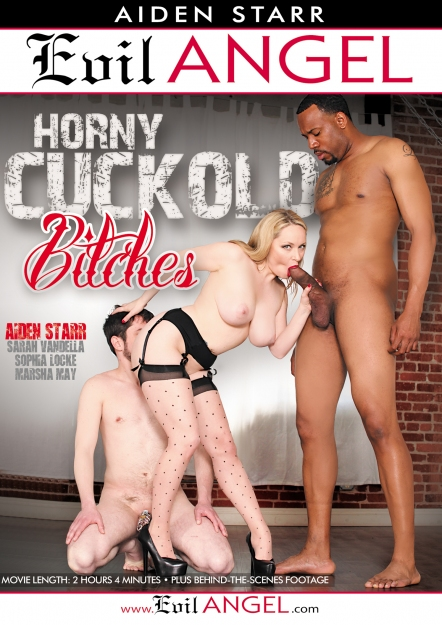Evil Angel - Aiden Starr, Marsha May, Sarah Vandella, Slave Fluffy, Sophia Locke [Horny Cuckold Bitches] (WEBRip/SD 540p)