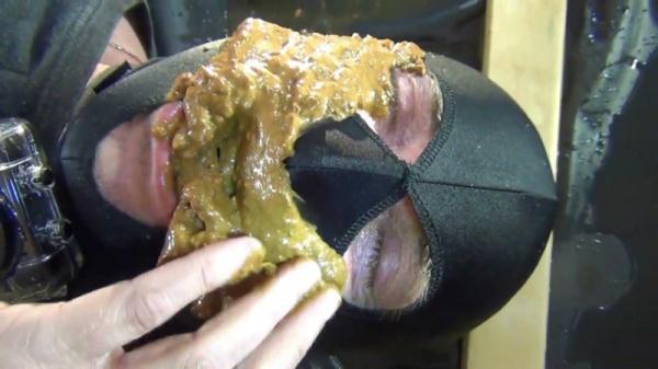 Mega diarrhea-Funk for the slaves mouth! Part 2 - Femdom (FullHD 1080p)
