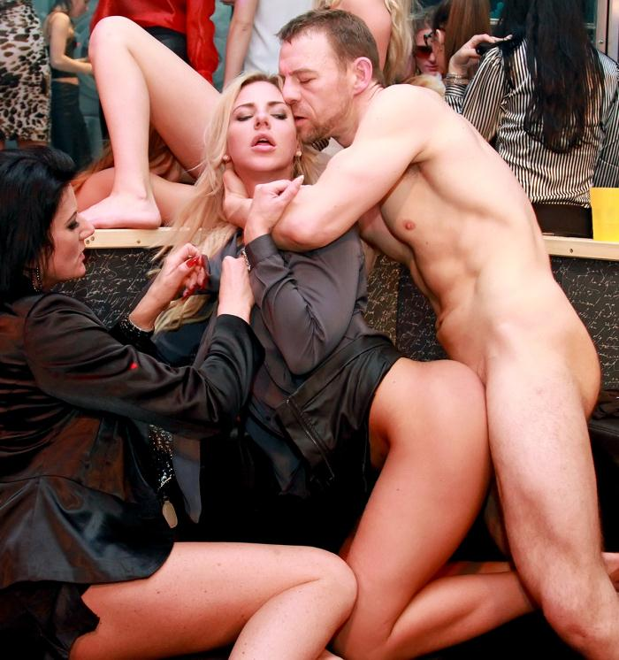 SinDrive - Celine Noiret, Nathaly Cherie, Kate Gold  - Wicked Party Vipsters Do It Right: Group Bang Gang Partying At Its Best - Perfect Pretty Pussy Pounding [HD 720p]