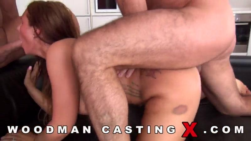 Kira Hot (Group sex with Anal / Casting X 112 / 31.05.16) [W00dm4nC4st1ngX / SD]