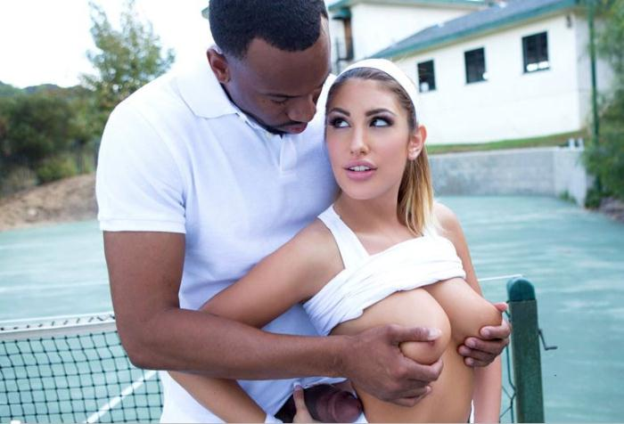 TeensLoveBlackCocks: August Ames - Her Big Black Coach  [SD 360p]  (Interracial)