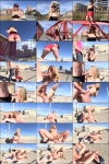 Chicas Porn: Jemma Valentine  - Jemma Valentine sucking hard rod on a rooftop (2016) SD  480p