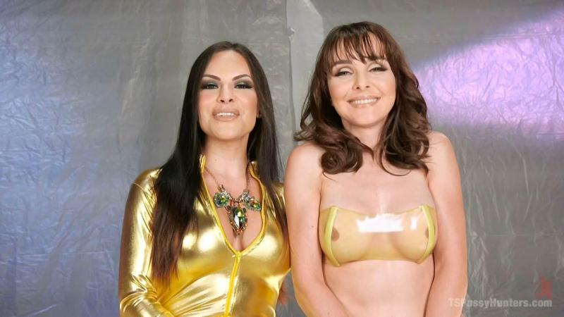 TS Foxxy and Cytherea - TS Foxy gives Cytherea squirting orgasms that are out of this world (Jun 17, 2016) [TSPussyHunters, K1nk / HD]