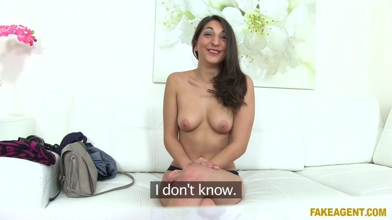 Jimena Lago (Spanish Chick Fucks in Office / Casting / 11.06.16) [FakeAgent / SD]