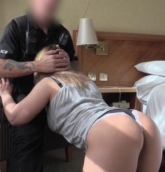 False Cop - Ashley - Curvy Slut Bounces on Cops Cock  [HD 720p]