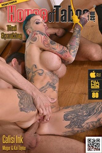 [Pierced Pussy Stuffing - Inked Submissive Double Penetrated] SD, 360p