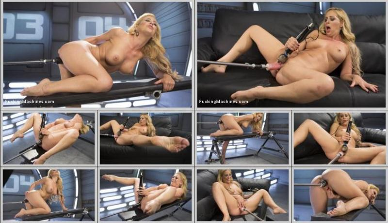 Cherie Deville (Hard Bodied Blonde MILF has Earth Shattering Orgasm from the Machines / 22.06.2016) [FuckingMachines, Kink / HD]
