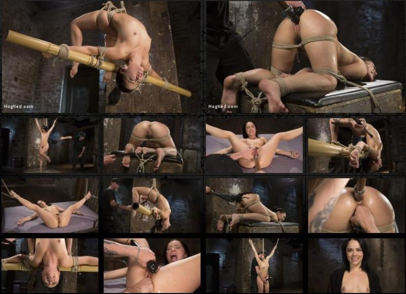 H0gT13d.com: Feisty Latina is Captured in Grueling Bondage, Tormented, and Ass Fucked [HD] (1.77 GB)