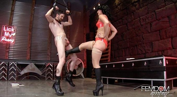 Kristina's Cruel Ballbusting Game (Kristina Rose / May 24th, 2016) [FemdomEmpire / FullHD]