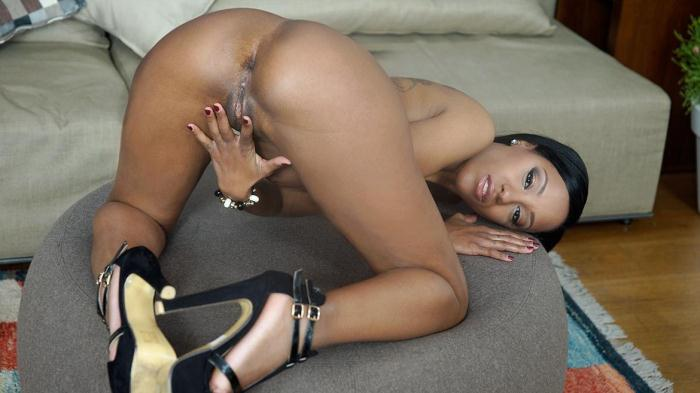 Private.com - Bubble Butt Ebony Noemilk Takes Two Huge Cocks (Hardcore) [SD, 360p]
