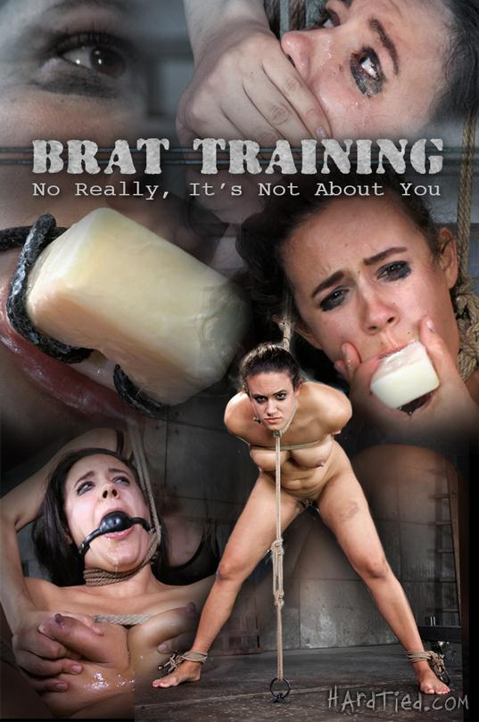Brat Training: No Really, It's Not About You (Penny Barber, Rain DeGrey) [HardTied / HD]