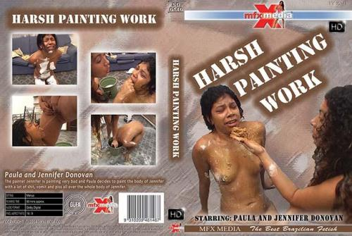 Harsh Painting Work [HD, 720p] [MFX] - Scat