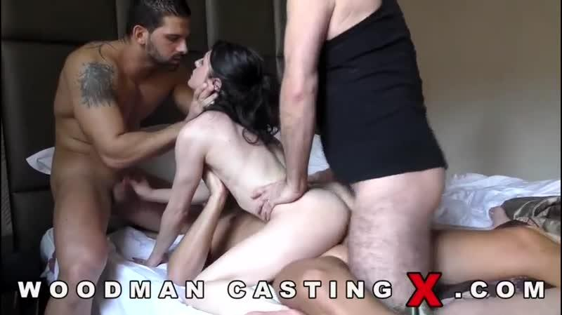 Rachel Adjani (Hard Anal Group sex - Casting X 151 / 09.06.16) [WoodmanCastingX / SD]