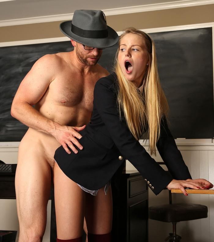 TeenFidelity: Ryan Madison, Scarlett Sage - School Girl 4  [HD 720p]  (Legal Teen)