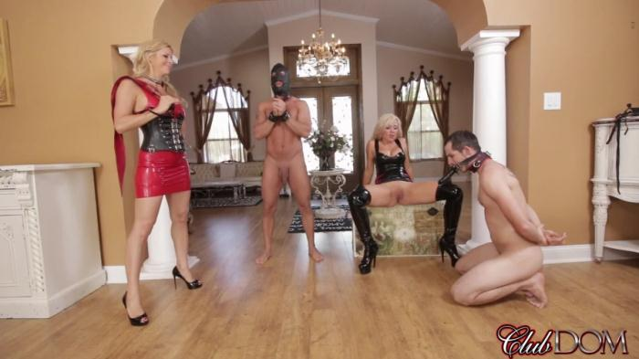 ClubDom - Alexis Fawx, Parker Swayze - Sex Slave For Blondes Part 6: Pleasured By Sadism [FullHD 1080p]