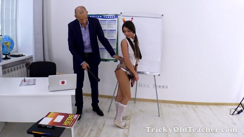 TrickyOldTeacher - Cindy - Cindy gets her grades up by fucking her old teacher [HD 720p]