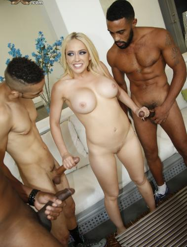 Blacks On Blondes - Kagney Linn Karter (SiteRip/BlacksOnBlondes/FullHD1080p)