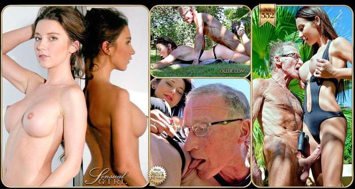 Julie Skyhigh - Old Man & Young Girl (552) [SD/540p/MP4/312 MB]