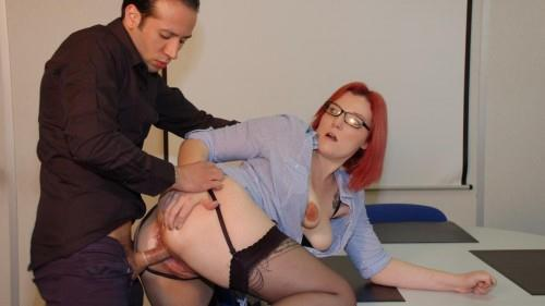 LaNovice.com [Rose Romane - French anal fuck session at the office] SD, 480p