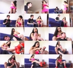 Mistress Mira - Phlegmatic and cruel whore-inhuman headscissor agony between my legs and arms till he collapses! [Clips4sale, MagyarMistressMira / FullHD]