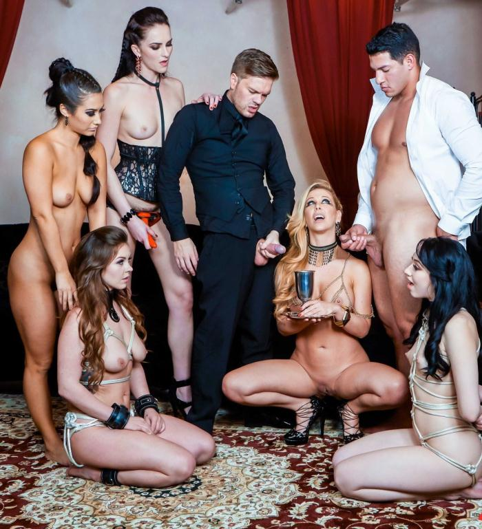 DigitalPlayGround - Alice Lighthouse, Aria Alexander, Bianca Breeze, Cherie Deville, Eva Lovia, Ryan Ryder [Flesh: House of Hedonism - Episode 5] (HD 720p)