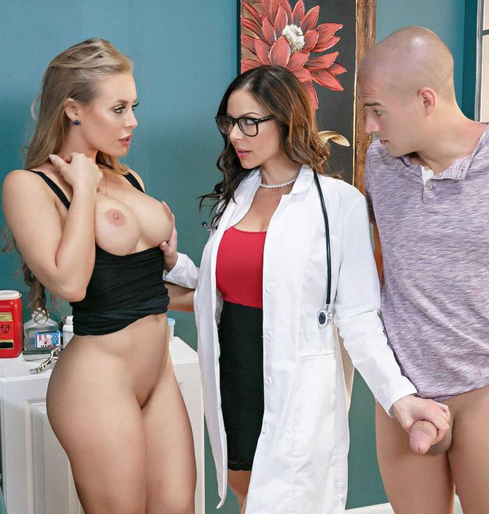 Kendra Lust, Nicole Aniston  - Doc, Were Stuck  [DA/HD]