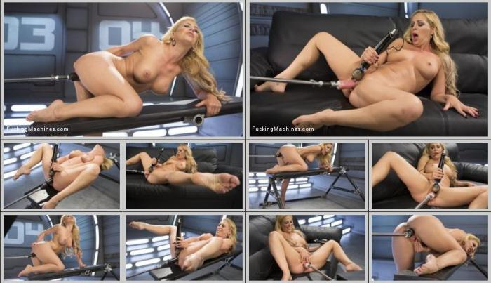 FuckingMachines.com - Hard Bodied Blonde MILF has Earth Shattering Orgasm from the Machines (Fisting) [HD, 720p]