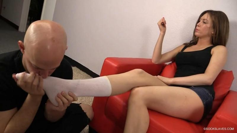 Mistress Megan - Sock Massage [HD]