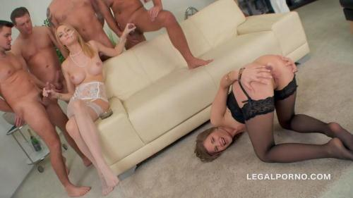 LegalPorno.com [Double Addicted Smoking Asshole 4on2, Belle Claire & Sara Kay DAP/ DP/ CUMSWAPPING GIO147] SD, 480p