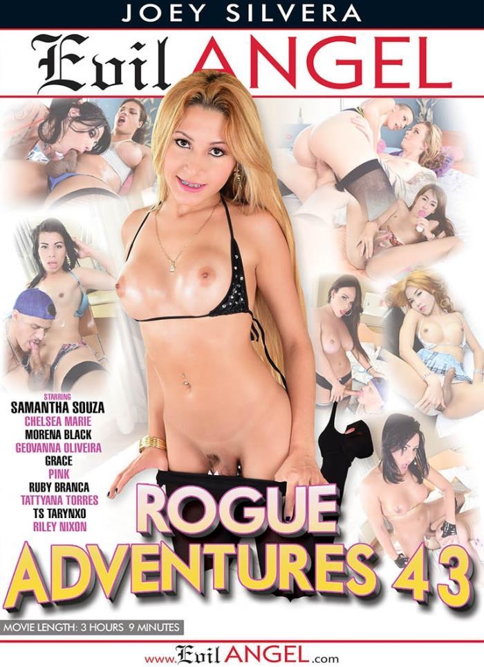 Evil Angel: Alex Rich, Alex Victor, Chelsea Marie, Geovanna Oliveira, Grace, Morena Black, Pink - Rogue Adventures 43 [WEBRip/HD 720p]