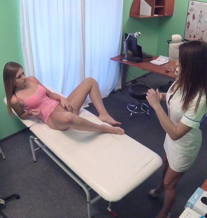Hospital - Chloe Lovette, Valerie - Nurse enjoys some lesbian pussy  [HD 720p]