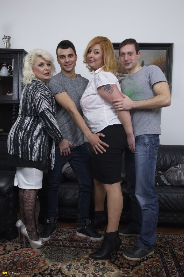 Mature.nl - Sofia (54), Alex (36) - Keep your eyes open for this hot mature groupsession, where everybody plays with everybody! [HD 720p]