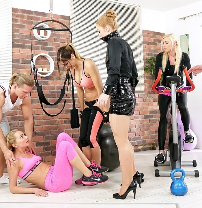 SinDrive: Vanessa, Victoria Puppy, Rachel Evans - Welcome To The Pussy Gym! Where Bitches Keep The Clit Fit and Sweat Makes A Miss Piss: Its Getting Wet In Here!  [HD 720p]  (Pissing)