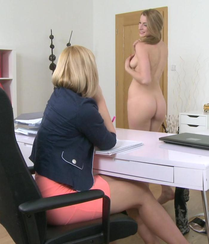 FemaleAgent - Tracy, Victoria - Sexy Blondes in Hot Lesbian Casting [HD 720p]