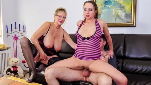 ReifeSwinger.com: Angelika J., Sandra B. - Horny Germans Have Kinky Group Sex [SD] (398 MB)