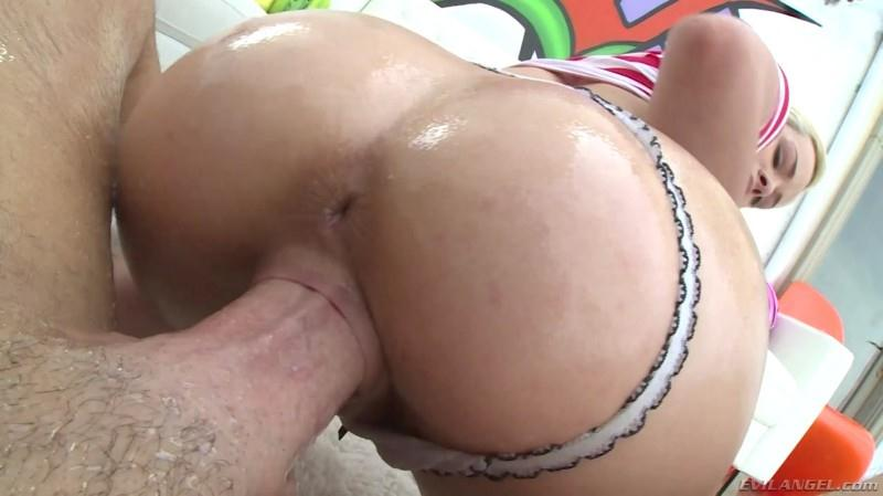 Sexy Blonde girl Elsa Jean with Big Ass! (15.06.16) [3v1l4ng3l / SD]