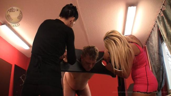 Your agony is our pleasure - Femdom with Spanking (Scat Porn) FullHD 1080p