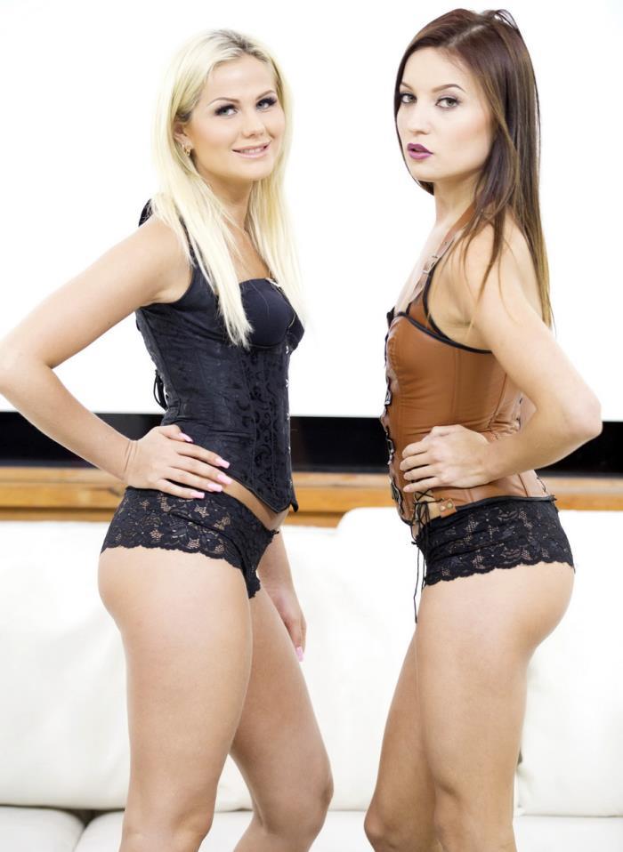 LegalPorno - Roxy Dee, Katie Montana - Double Trouble DAP RS189 [SD 480p]