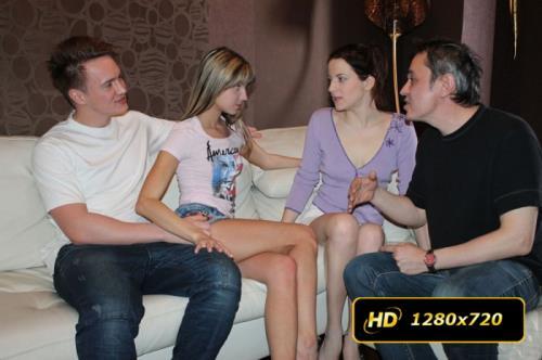 Masha, Lisa - Sharing girlfriends is fun (2013/HD)