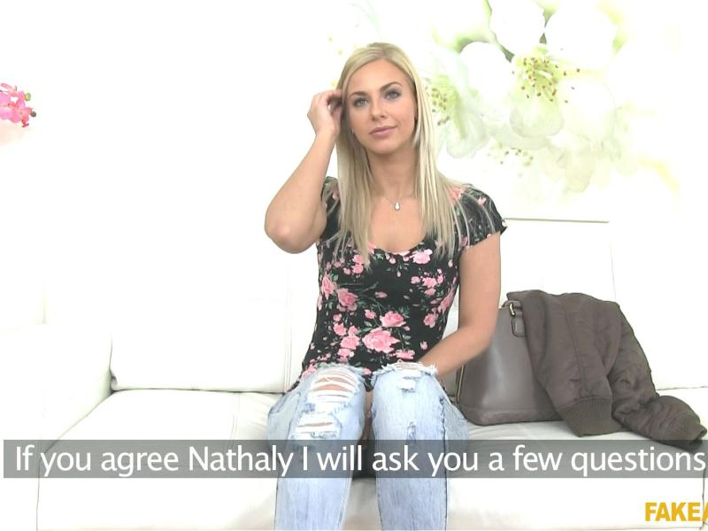 FakeAgent - Nathaly - Hot Amateur Looking for a Job [2016 FullHD]