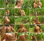 Private.com: Wild Fucking in The Woods With Teen Lesbians Bella Baby & Cayla Lyons [SD] (178 MB)