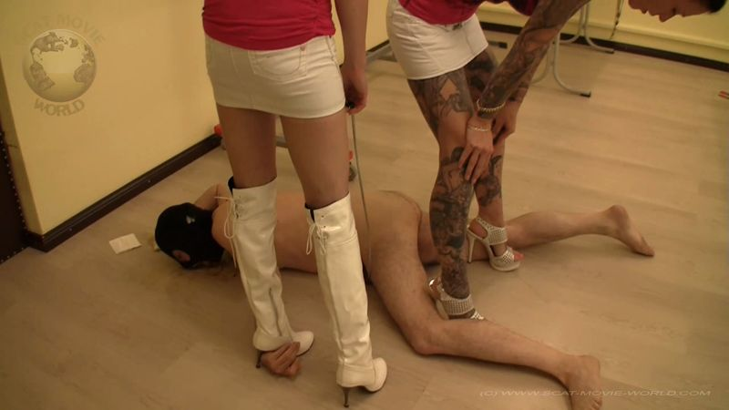 Full-service toilet in the classroom - Group Femdom (SCAT / 28 June 2016) [FullHD]